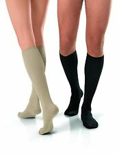Jobst Travel Knee High Support Socks 15-20 mmHg Compression For Men and Women