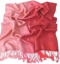 Two Tone Pashmina Scarf/Shawl/Hijab- Multiple Colors