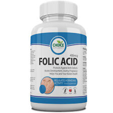 Folic Acid 400mcg One a Day ✔ UK Manufactured ✔ Pregnancy Aid ✔