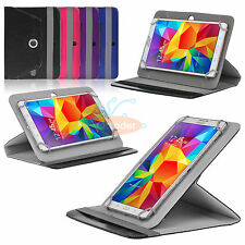 """Universal Folio Rotating Case Stand Cover for Insignia 8 Inch RCA 8.0"""" Tablet"""