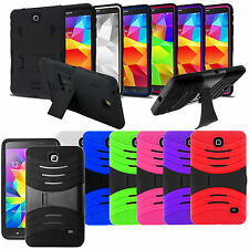 For Samsung Galaxy Tab 4 8.0'/ 8-inch T330 Tablet Armor Rugged Cover Hard Case