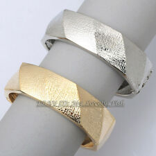 "Z2-A158 Fashion 0.8"" Width 18KGP Bracelet Bangle Cuff"