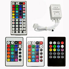 DC 12V RGB LED Light Strip IR Sensor Controller Sound Music Remote 20/24/44 Key