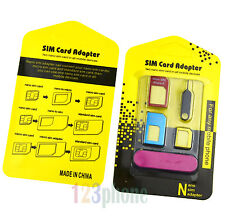 WHOLESALE UNIVERSAL DURABLE METAL ADAPTER NANO + MICRO + STANDARD SIM + NEDDLE