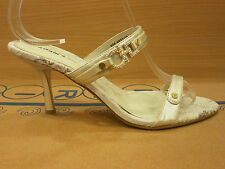 New Womens Shoes Party Wedding High Heels Party Pumps Gold Strappy Sandals Size