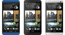 HTC ONE M7 32GB 4G LTE Android Smartphone (AT&T) - Sliver/Blue/Black REF