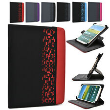 DC2 Kroo 7 inch Deco 360 Rotating Folding Folio Tablet & e-Reader Stand Cover