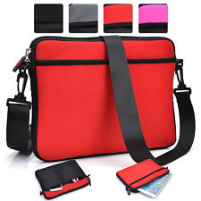 Kroo SC4 Protective 10 Tablet & e-reader Shoulder Messenger Travel Bag Case