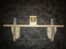 SOLID PINE SHELVES / SHABBY CHIC CHOICE OF COLOURS AND SIZES