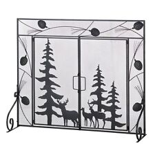 FIREPLACE SCREEN Metal Iron Decorative Fire Screens Gate NEW Choose Your Style!
