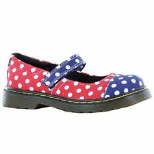 Dr.Martens Bairn Navy  Red Toddlers Shoes - 15373010