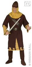 MENS MEDIEVAL NORMAN SOLDIER 1066 Robin Hood Fancy Dress Costume Outfit New XL