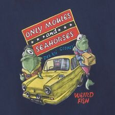 WEIRD FISH MENS ONLY MOULES AND SEAHORSES TSHIRTS (SIZES SMALL TO 5XL) SS15