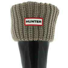 Hunter SHORT White or Mushroom Half Cardigan Boot Socks - Authentic!