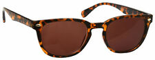 Sun Readers Reading Glasses Mens Womens UV400 Brown Tortoiseshell UVSR014