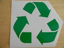 Recycle Logo Vinyl Decal Sticker Renew and Reuse Choose your Color and Size