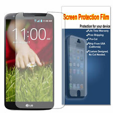 HD Clear LCD Screen Protector Shield Cover HD For LG G2 D800 D801 LS980 VS980 G2