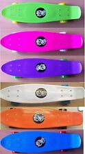 "22 ""jouet king penny style Skateboard Skater patinage plastique planche pont complet"