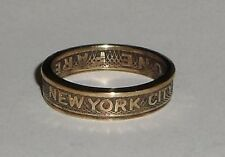 NEW YORK CITY SUBWAY TOKEN COIN RING SIZE 4-11 Show your NYC pride