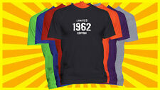 Born in 1962 T-Shirt Made in 1962 Year Born Shirt Limited Edition Year