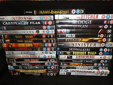 MORE HORROR DVDS FROM 99P EACH REGION 2 (U.K PAL)