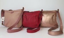 Fossil Mimi Leather Messenger and Cross Body Bag