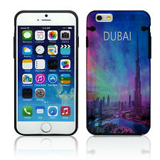NEW STYLE! Apple iPhone 4 4S 5 5S 5C 6 Case Cover Dubai Nebula Cool Country Cute