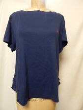 Tommy Hilfiger Short Sleeve scoopneck Pajama Top 2X Blue NWT