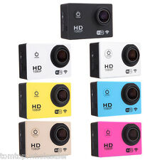 Full HD 1080P 12MP Car Wifi Sport DV Action Waterproof Camera Helmet Camcorder