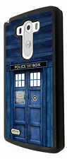Doctor Who Tardis Police Call Box Design LG G4 / LG G2 G3 Case Cover