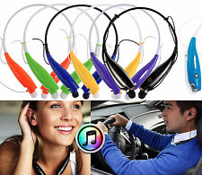 Wireless Sport Stereo Headset Bluetooth Earphone headphone for Samsung LG iPhone