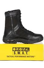 "S.W.A.T 1232 9"" SIDE ZIP BOOT - POLICE, ARMY, SAS -  ORIGINAL LY FROM U.S.A"