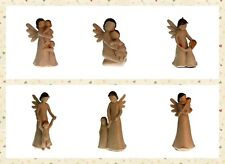 Collectable Nature Angels Decorative Resin Mother Nurturing Angel Figurines D01