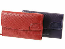 Rowallan Punch Collection Cowhide Womens Ladies Leather Purse Wallet - 7585
