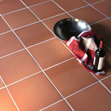Traditional Red Quarry Clay Floor Tiles 150x150x12mm 3-10 Sqm