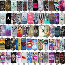 Fashion Pattern Hard Back Case Cover Skin Protector For iPhone 5s 5 5C 4s 4