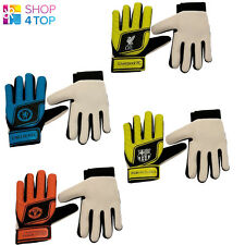 FOOTBALL SOCCER CLUB TEAM GOALKEEPER GOALIE GLOVES YOUTH KIDS GOAL OFFICIAL NEW