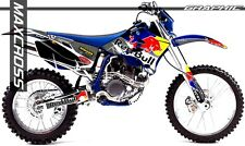 YAMAHA 2003-2006 WR250F WR450F RED BULL STYLE FULL GRAPHIC KIT