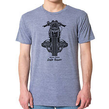 BMW Boxer Twins Cafe Racer Graphic printed on Men's American Apparel T-shirt