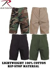 Police Military Emt Ems 100% Cotton Rip-Stop Military BDU Combat Cargo Shorts