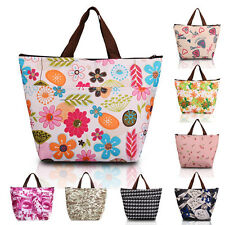 Lunch Box Bag Tote Insulated Cooler Carry Bag for Travel Picnic