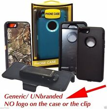 New Defender Case & Belt Clip Holster For Apple iPhone 6 Plus / iPhone 6