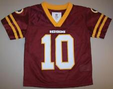 ~ WASHINGTON REDSKINS ~ GRIFFIN RG III #10 ~ NFL Football Away Jersey 2T / 3T