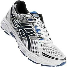 Asics Gel Contend White Men's Running Shoes Wide D 4E All Sizes Synthetic T2F4N