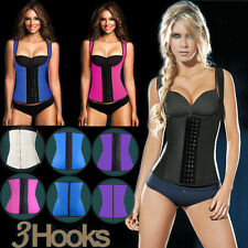 Wholesale Latex Rubber Waist Cincher Sports Vest Shapewear Strap Bodysuit Corset