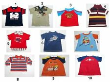 Toddler Children Kids Baby Boys Tops T Shirts Size:3-6,12,24,3T,Large Mix Brands