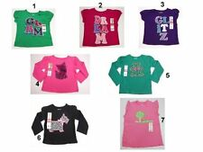 NEW Toddler kids Baby Girls Tops Shirts Size:12,18,24,3T,4T,5T OKIE-DOKIE,Garani