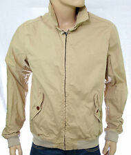 SCOTCH AND SODA blouson Classic Short bomber jacket homme beige Taille XL