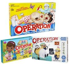OPERATION / MAKE HIM BETTER OR GET THE BUZZER / THE SILLY SKILL GAME FAMILY FUN