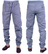 MENS JEANS ETO EM433 GREY CUFFED JOGGER STYLE JEANS SALE PRICE